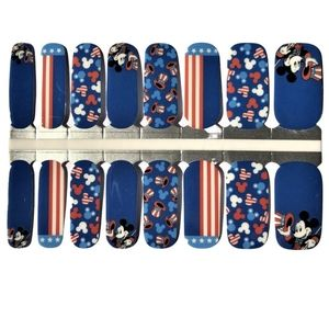 5 for $20 Nail Wrap - Happy 4th Micky